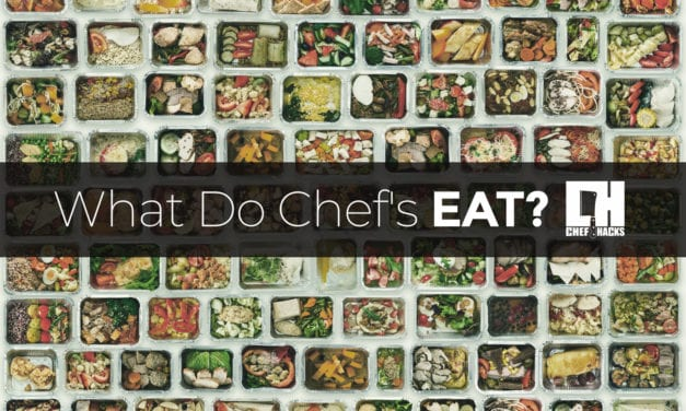 What do Chefs Eat?