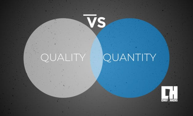 Food Quantity vs. Quality