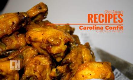 Carolina Confit Chicken Wings