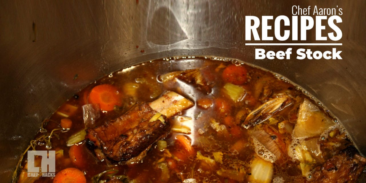 How to make Beef stock with a Thermodyne Industrial Food Warmer
