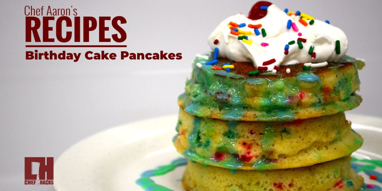 Birthday Pancake Recipe you have to try!!