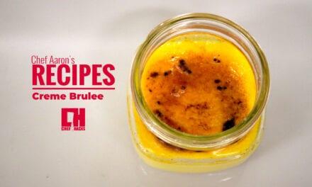 Sous Vide Mason Jar Crème Brûlée