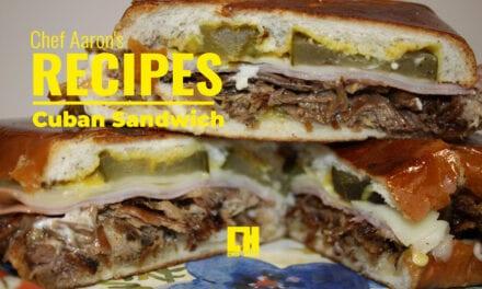 Thermodyne Recipe for a Delicious Cuban Sandwich