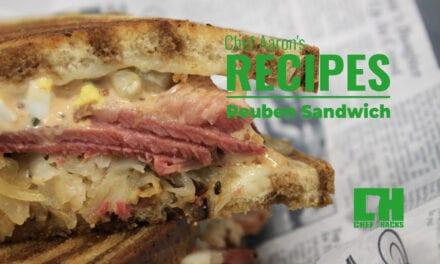 The Fully Loaded Reuben Sandwich