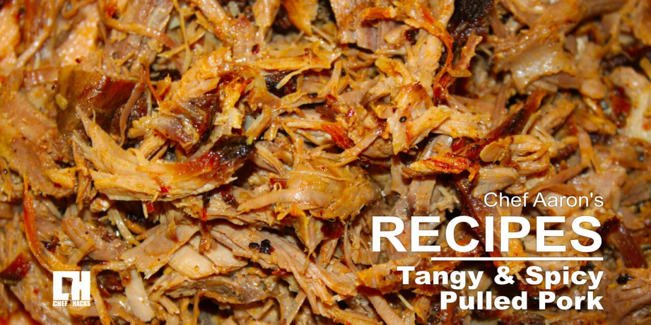 Tangy and Spicy Pork