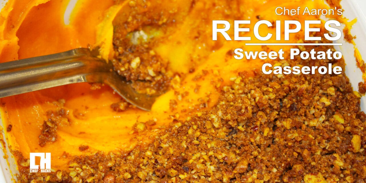 Creamy Sweet Potato Casserole Recipe