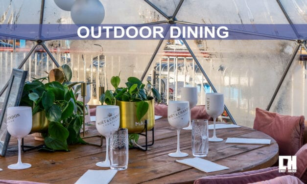Outdoor Dining During the Winter