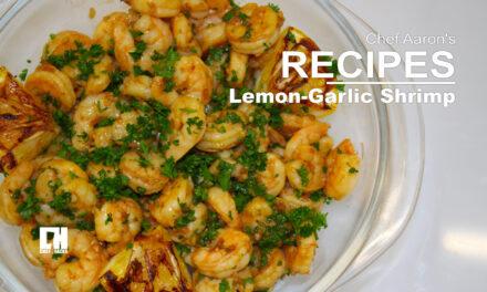 Citrus & Garlic Shrimp Scampi